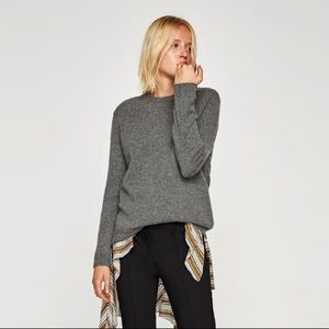 Zara %100 cashmere sweater